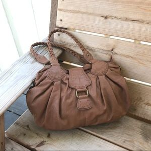 Aldo Brown Faux Leather Purse